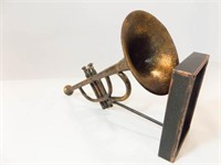 """Trumpet Décor Piece, 10"""""""