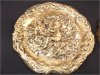 Wall Plaques, Gold Leaf, Plaster (2)