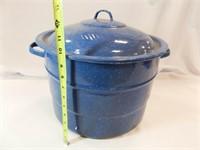Canning Kettle, Enamel, Rug Beater