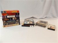 VHS (7), DVD (2), CD (3), Cassette