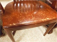 Early 1900's Oak Court House Chair