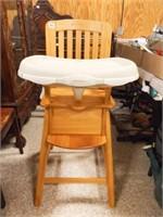 Eddie Bauer Wooden High Chair