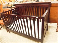 """Graco Wood Baby Bed, 41"""" tall x 55"""" x 30"""""""