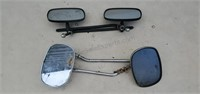 Side Mirrors 2 Sets