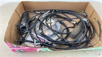 Box lot of New & Used Cables