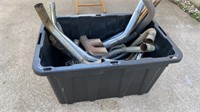 Tote lot of Misc Exhaust pieces
