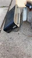 Vintage Saddle Bags Missing one Lid
