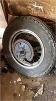 Set of Harley Wheels