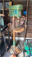 Rusty Drill Press Untested