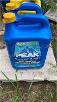 3 Sealed Gallons of Antifreeze 1 Opened