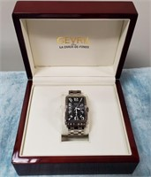 3795.00 MENS NEW GEVRIL AVE OF AMERICAS WATCH