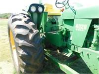 1970 John Deere 4020 diesel tractor