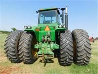1983 John Deere 8650 4x4 tractor