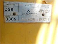 1977 Cat D5B dozer