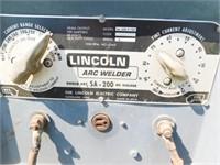 Lincoln SA-200 pipeline welder w/leads