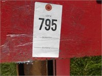 Shaver 3pt. hydraulic post driver