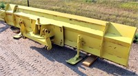 Duz-All Front Dozer Blade, 12', SN: 9322.  NOTE: This item will be sold at live auction, however absentee bids can be placed if you are unable to attend the auction. More details and pictures can be viewed by clicking the catalog tab and view Lot #18.