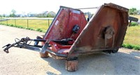M & W Rotary Bat Wing Mower, 15', 540 pto, pull-type, SN: 012969.  NOTE: This item will be sold at live auction, however absentee bids can be placed if you are unable to attend the auction. More details and pictures can be viewed by clicking the catalog tab and view Lot #19.