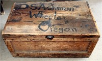 Vintage Wooden Trunk/Box (view 1)