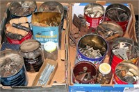 Misc Cans of Vintage Hardware