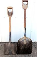 2 Old Shovels