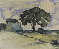 ART - Marc-Aurèle FORTIN ARCA (1888-1970)