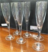 38 - SET OF 6 VILLERAY&BOCH WINE GLASSES