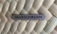 793 -BEAUTIFUL BROWN JORDAN PATIO TABLE W/4 CHAIRS