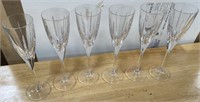 38 - SET OF 6 WINE GLASSES