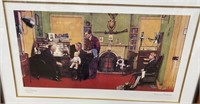 38 - SIGNED/NUMBERED/FRAMED NORMAN ROCKWELL ART