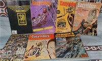 N - LOT OF EASY RIDER MAGAZINES & MORE