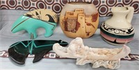N - LOT OF SOUTHWESTERN POTTERY - SEE PICS