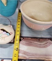 N - LOT OF MIXED SOUTHWESTERN POTTERY & MORE