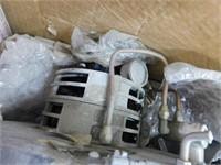 pallet of motors