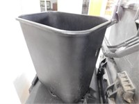 Rubber trash cans