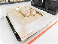 Uline mobile floor rack