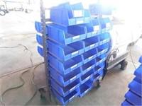 Uline Bin rack