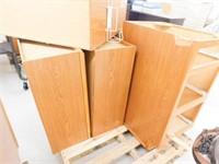 5-wood cabinets