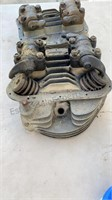 Panhead Cylinder Heads Front & Rear Set