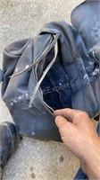 Stiff Leather Saddle Bags
