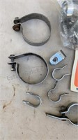 Lot of Pipe / Tube Clamps