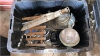 Tote of Mosc Parts & Pieces