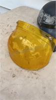 Bent Bubble Visor & Motorcycle Helmet