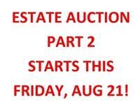 CHECK OUT NEW ESTATE AUCTION - PART 2