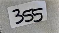 355 - FRAMED CHESHIRE CAT WALL ART