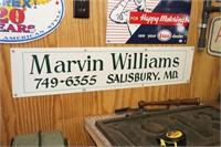 Marvin Williams Salisbury, MD 749-6355 former
