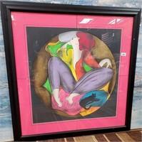 351 - ART: LINDA  LE KINFF LIMITED EDITION