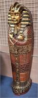 714 - EGYPIAN SARCOPHAGU STORAGE CABINET