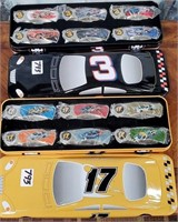 793 - NASCAR COLLECTABLE TINS W/ KNIVES INSIDE