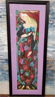 351 - BEAUTIFUL SIGNED/NUMBERED LADY ART
